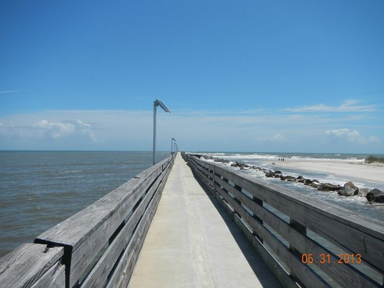 Blue Heron Inn - Amelia Island : Fishing Pier At Ft. Clinch State Park