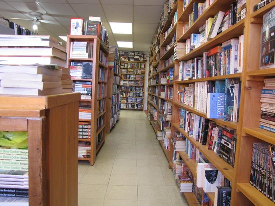 Bearly Used Books: The Fiction Section