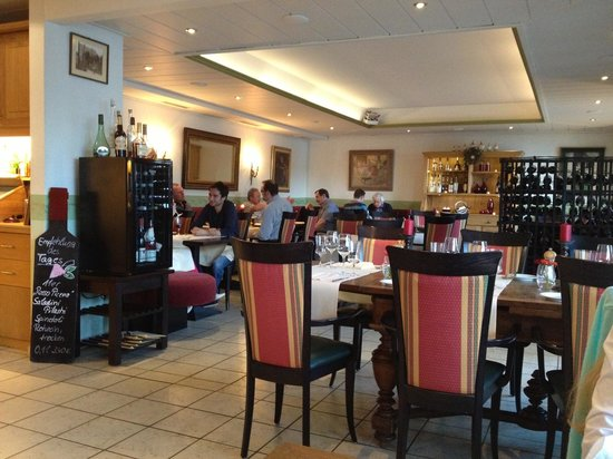 Hotel Liebesglück: Restaurant Pascha's, Astenblick.