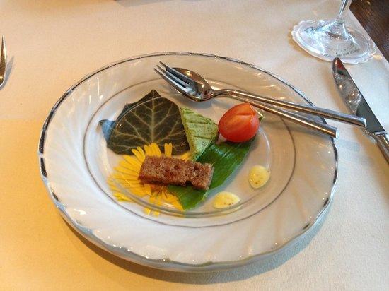 Hotel Liebesglück: Astenblick, restaurant Pascha, amuse.