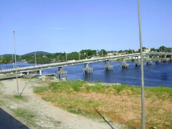 Valadares Island : Vista da ponte que liga paranaguá e ilha dos valadares