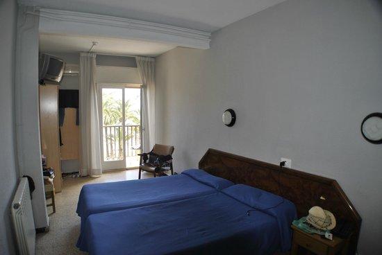 Esmeralda Beach Hotel: Seating room