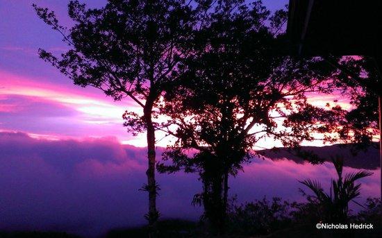 Vista Valverde Bed & Breakfast: Sunset from Vista Valverde