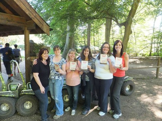 Go Ape Black Park: Certificates at the end of the trip!