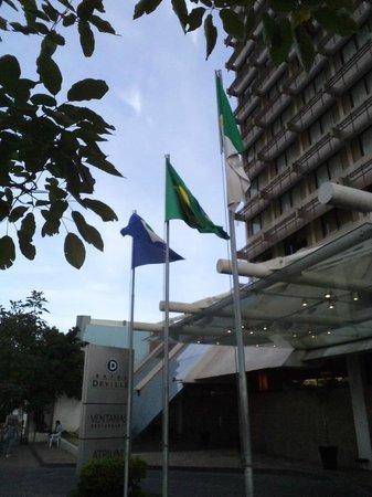 Hotel Deville Prime Cuiabá : Fachada do Hotel