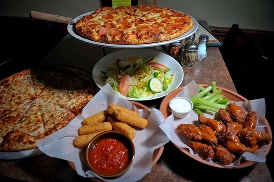 Delicious dishes - Picture of Fox's Pizza Den, Millville ...