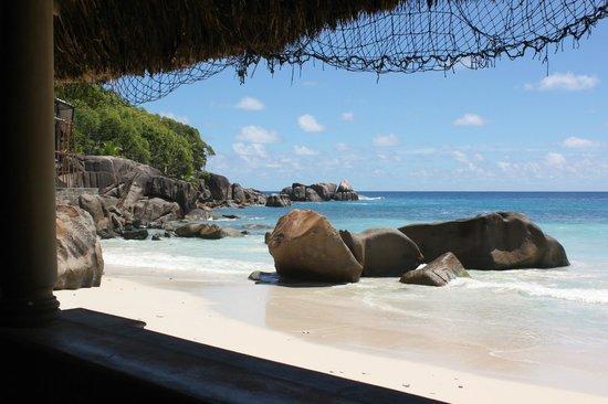 Chez Batista Villas Restaurant: Restaurant les pieds dans le sable