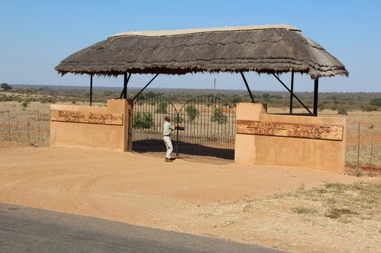 Elandela Private Game Reserve: Entrance to the lodge