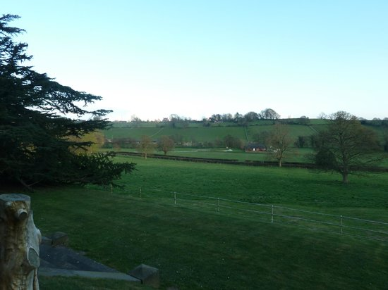 Callow Hall Hotel: From our room