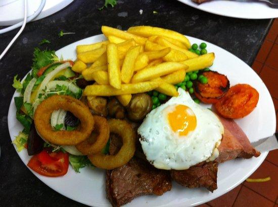 Horse and Jockey Restaurant: Lovely food!