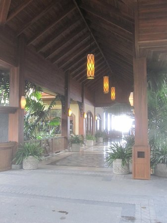 The Springs Resort and Spa: Hotel Vestibule