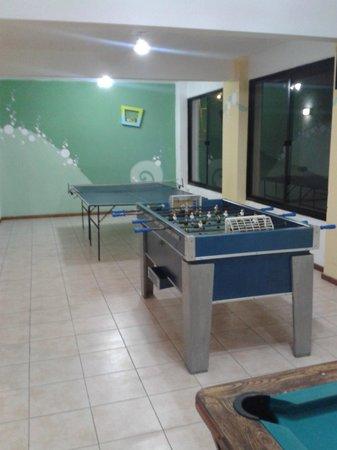Hotel Ricadi: pin pon y futbolito