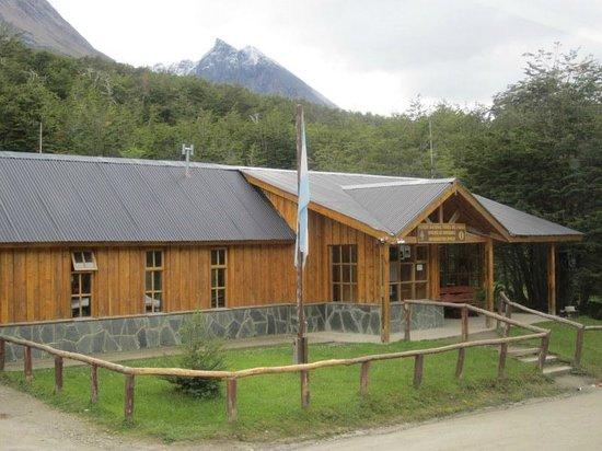 Parque Nacional Tierra del Fuego: The ranger station