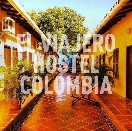 El Viajero Cartagena Hostel: Our Courtyard