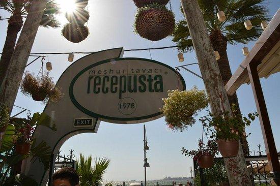 Tavaci Recep Usta: You know you've reached your destination