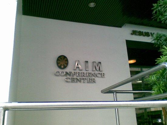 AIM Conference Center Manila: Entrance