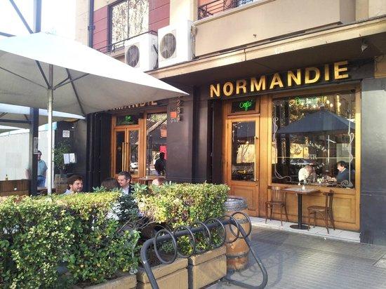 Normandie: Exterior