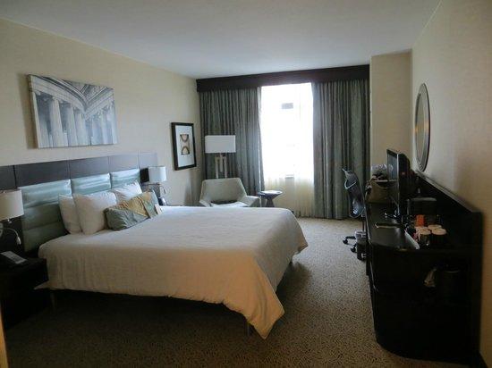 Hilton Garden Inn Washington DC/US Capitol: my room, spacious and comfortable