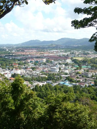 Khao Rang Hill View Point: just a small part of the beautiful view