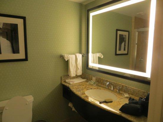 Hilton Garden Inn Washington DC/US Capitol: my bathroom