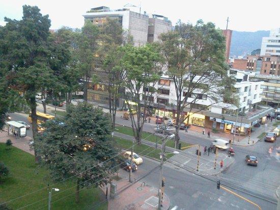 Hotel Parque 97 Suites: Desde la ventana del hotel