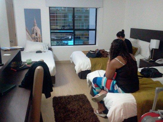 Hotel Parque 97 Suites: Habitación con óptima señal de wifi