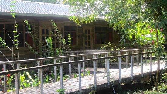 Yachana Lodge: A couple of the rooms