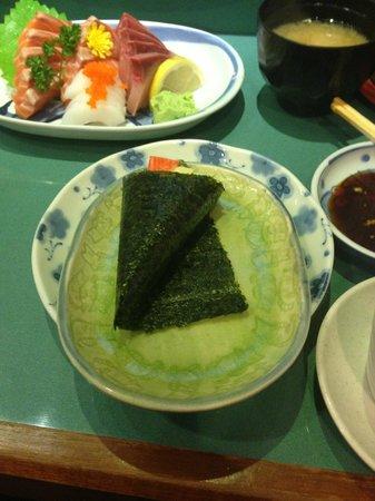 Ikoi Japanese Restaurant: Handroll