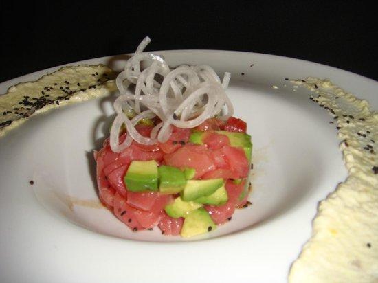 Patio Delray: Ahi Tuna and Avocado Tartar