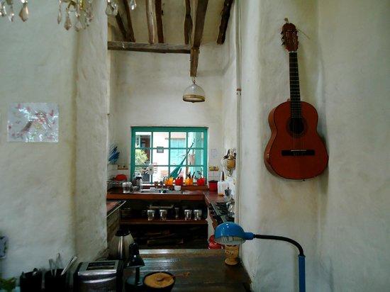 Anandamayi Hostel: kitchen
