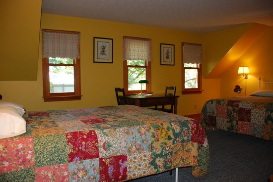 1887 Black Dog Inn: One of Six Rooms Available for Your Comfort.