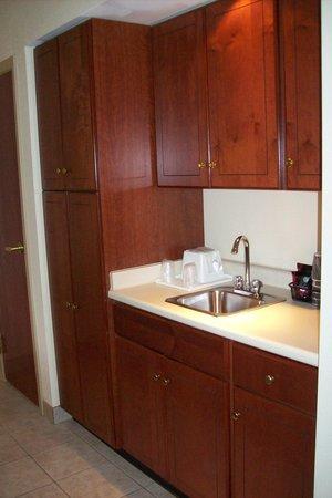 La Quinta Inn & Suites Louisville Airport & Expo: Kitchenette