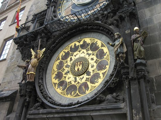 Astronomical Clock: Close up