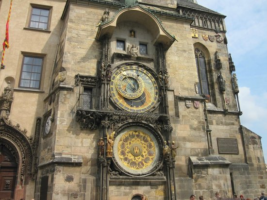 Astronomical Clock: view from street