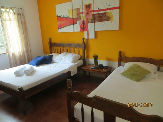 Buddha House Boutique Hostel: Double occupancy room