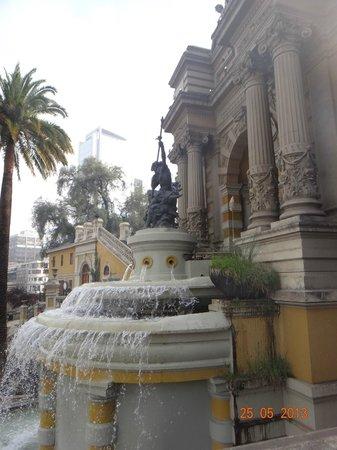 Colline Santa Lucia de Santiago