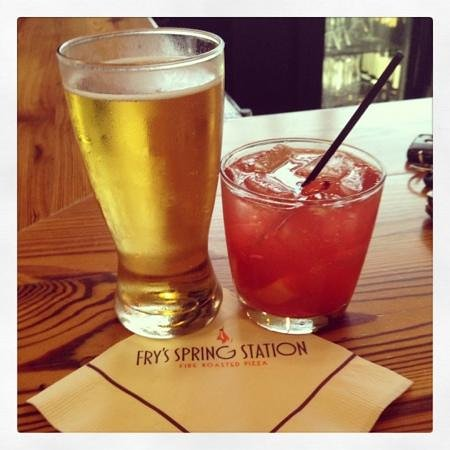Fry's Spring Station: PBR & Fry's Fashioned