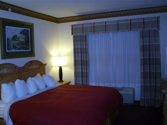 Country Inn & Suites By Carlson, Cortland : king sized comfy bed