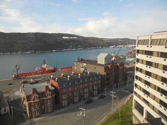 Sheraton Hotel Newfoundland: View from 7th floor, harbor side of hotel
