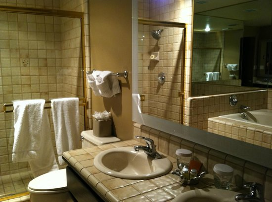 BEST WESTERN PLUS Arroyo Roble Hotel & Creekside Villas: Master bath
