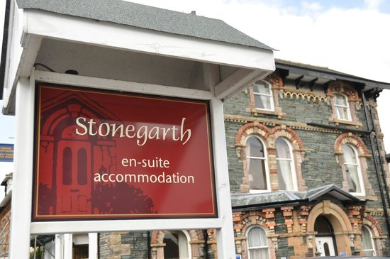 Stonegarth Guest House: B&B Sign