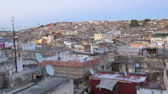Riad Dar Guennoun : View from Roof Terrace