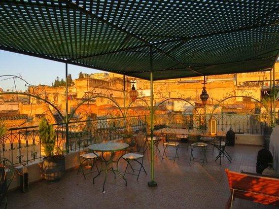 Riad Dar Guennoun : Roof terrace