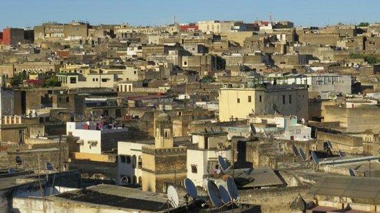 Riad Dar Guennoun : View from Terrace