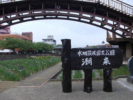 Suigo Itako Ayame Garden : 整備された公園