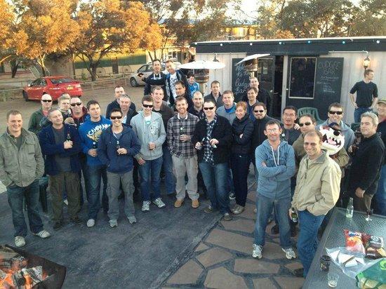 Woomera Traveller's Village & Caravan Park: RAAF crew farewell gathering 2012