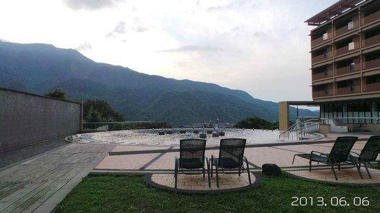 Tien Lai Resort & Spa : 露天SPA池