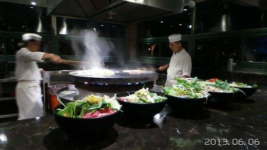 Tien Lai Resort & Spa : 蒙古烤肉區