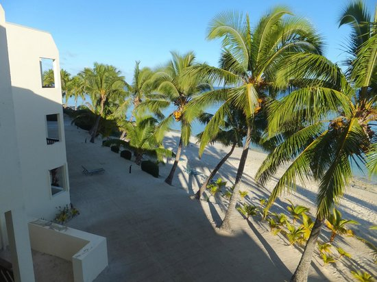 The Edgewater Resort & Spa: View from our beachfront room