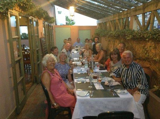 Fuzios Restaurant : Having a family & friends dinner